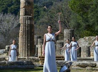 Leer over het ontstaan van de Olympische Spelen in Olympia.