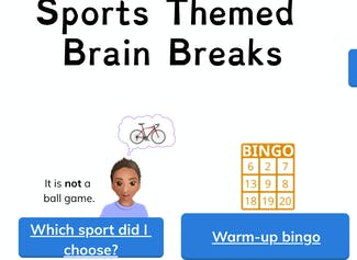 Use these sports-themed brain breaks to energize students