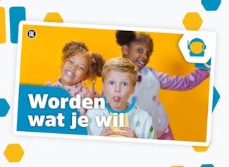 Bekijk de officiële Kinderboekenweek videoclip op het digibord.