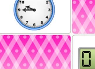 Play memory with analog and digital clocks.