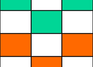 Play a game in which you practice coloring fractions of flags.