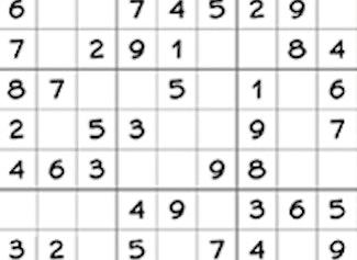 Play sudoku on a 9x9 grid.
