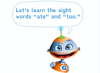 """I can build and read sight words """"ate"""" and """"too."""""""