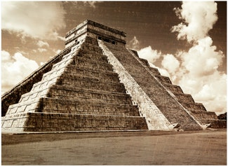 I can describe the geography, government, and architecture of the Maya.