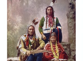 I can describe different Native American tribes.