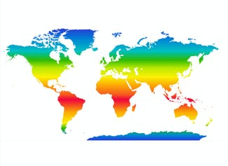 I can present information on climates in different regions around the world.