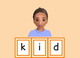 I can say the sound of each consonant to help me read words.