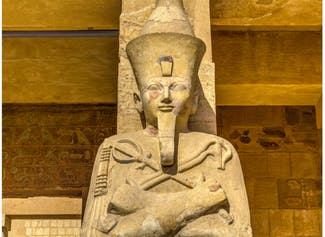 I can describe ancient Egyptian leaders, religion, & way of life during the...