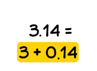 Place value - decimal numbers with 1 or 2 decimal places