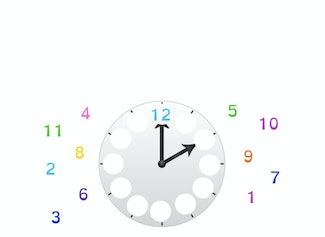 I can tell time on analog clocks.