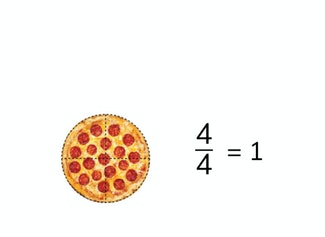 I can simplify fractions greater than 1 into mixed number.