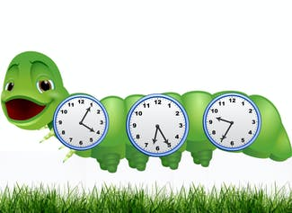 I can tell and write time in 10 and 5 minutes using analog clocks.
