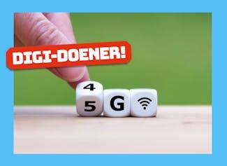 Digi-doener: 5G, wat kun je er mee?