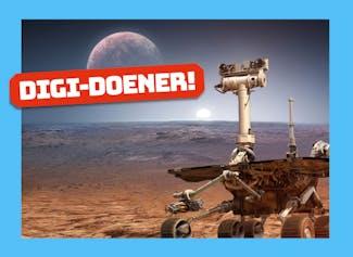 Digi-doener: Missie naar Mars