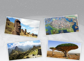 Discover new parts of the world with your class every day!