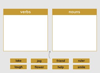 I can identify verbs and use appropriate verbs within text.