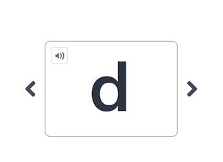 Een hulpmiddel om een willekeurige letter of klank te kiezen.