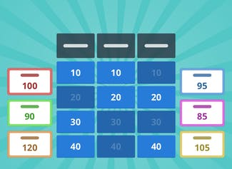 Create a quiz game with the Gynzy Game Show.